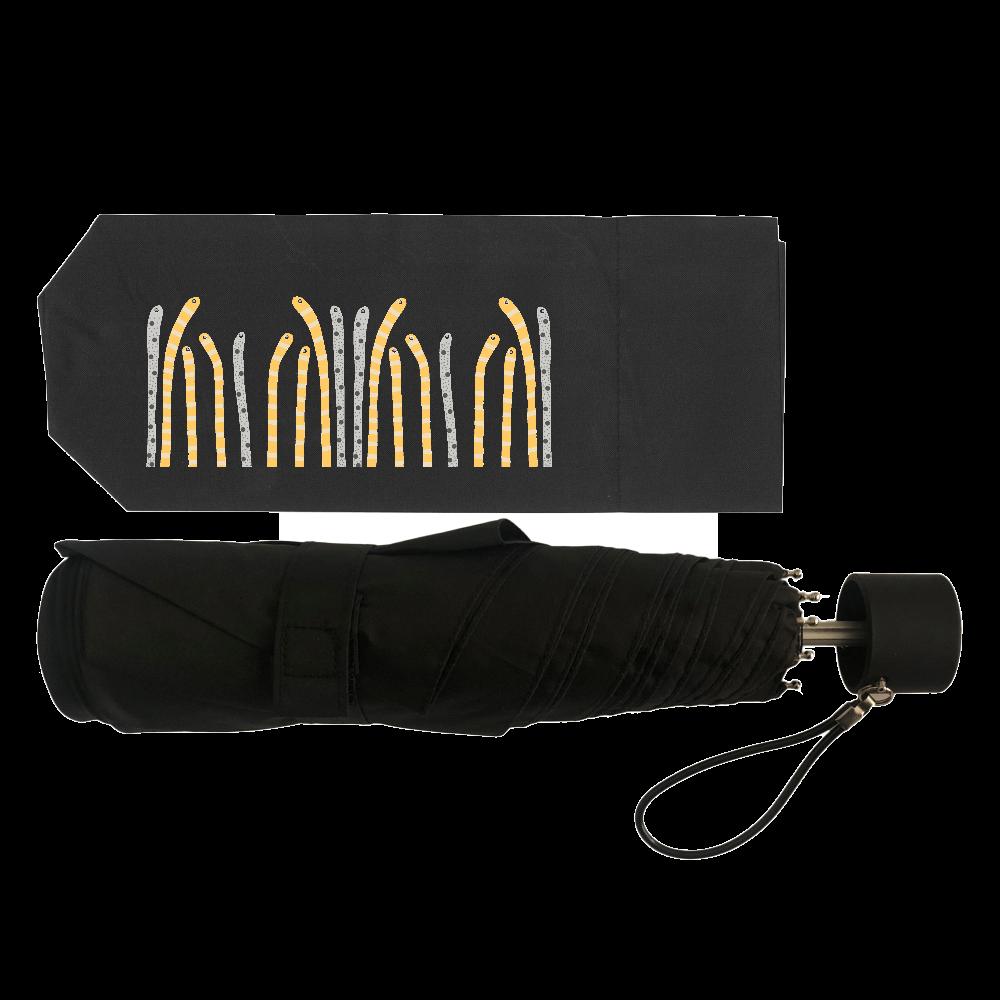 海の生き物チンアナゴデザイン 耐風UV折りたたみ傘