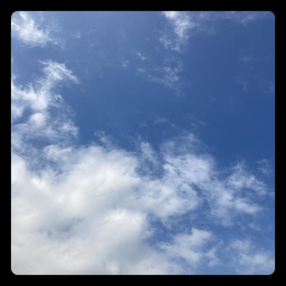 雲とソラか 白雲石コースター 四角