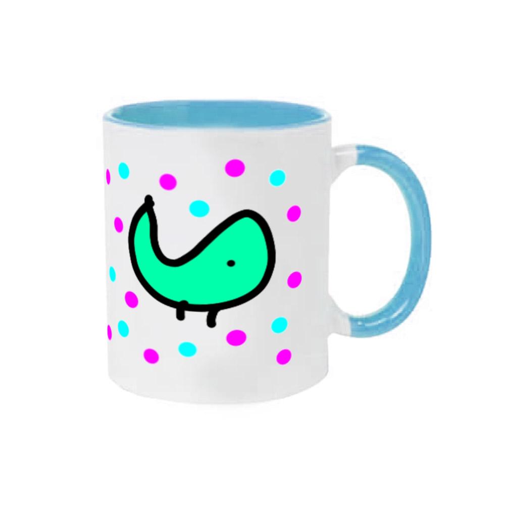 パクパクさん 2トーンマグカップ