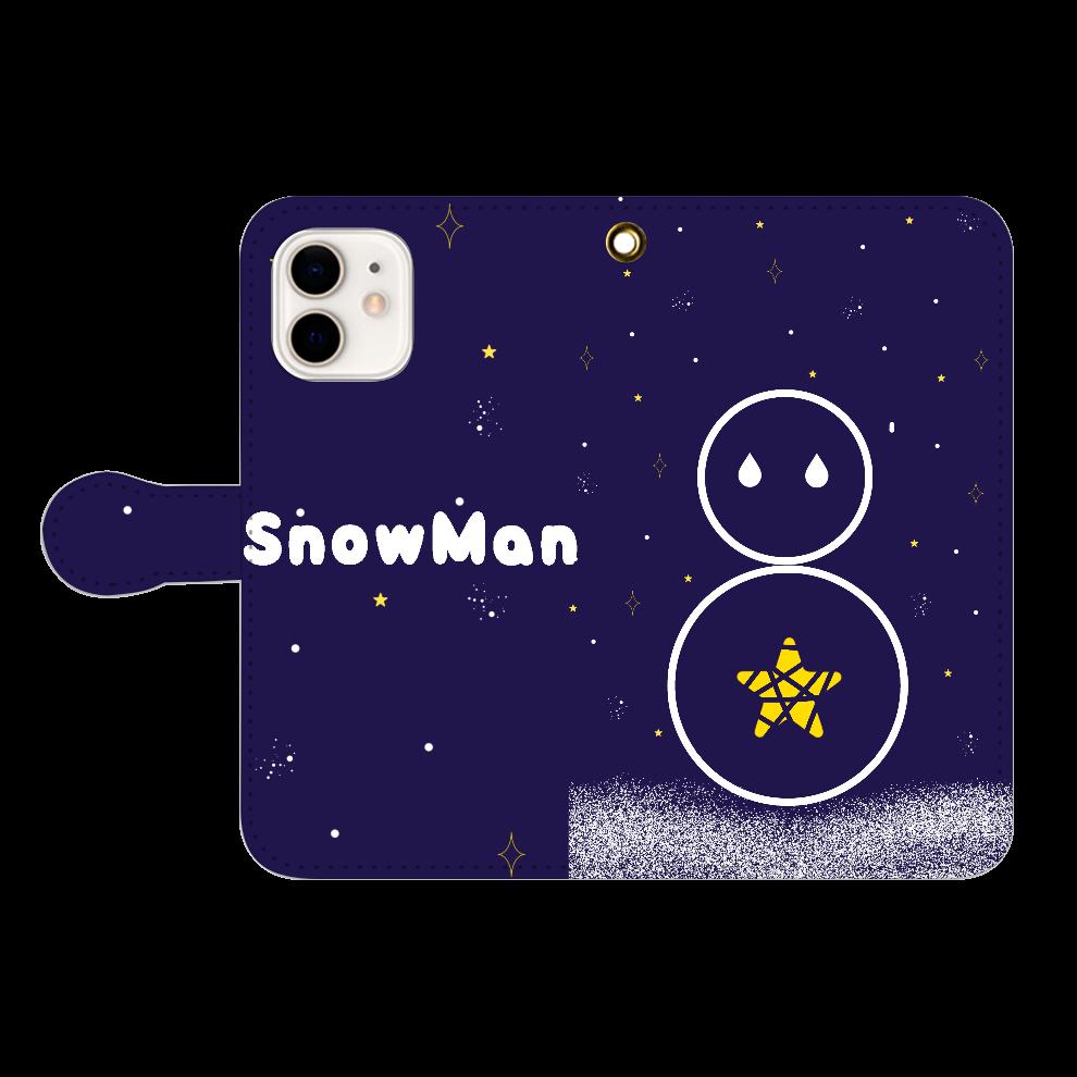 star night SnowMan iPhone12/12pro 手帳型スマホケース