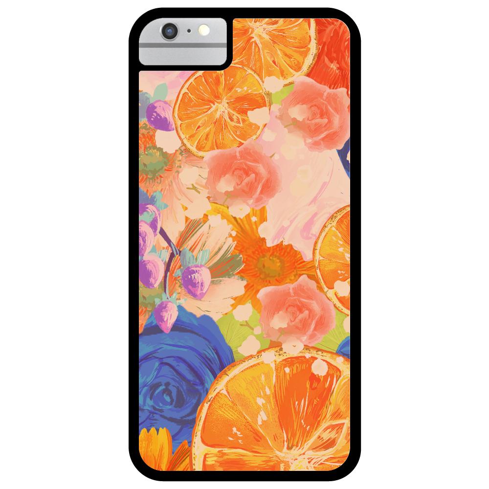 Flowersデザイン iPhoneケース iPhone6_プリントパネルラバーケース