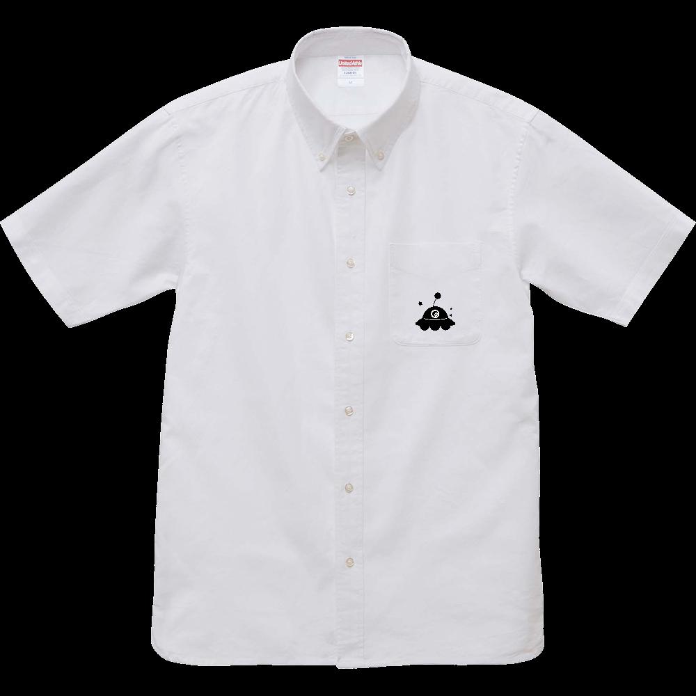 UFO シャツ オックスフォードボタンダウンショートスリーブシャツ