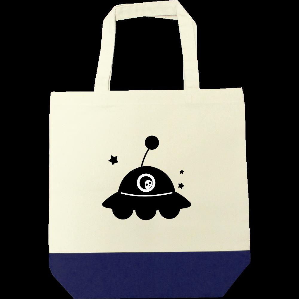 UFO トートバッグ キャンバスツートントートバッグ(M)
