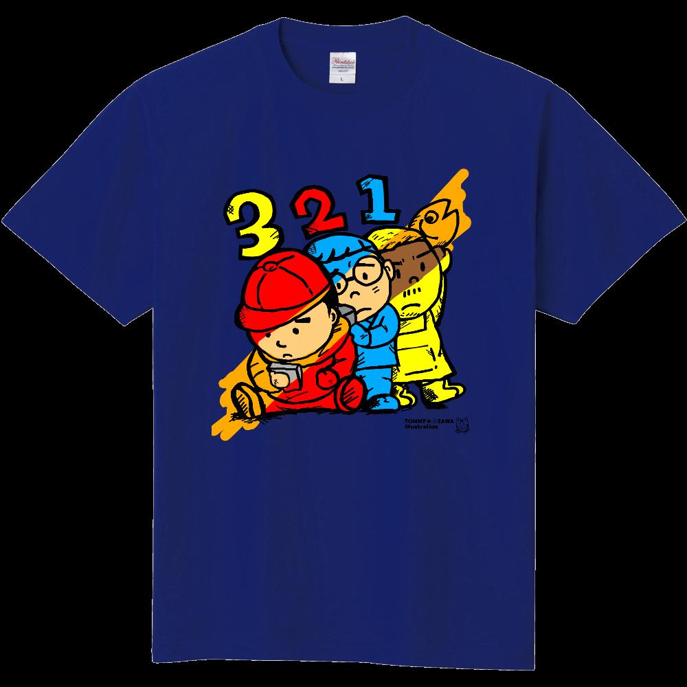 「三兄弟。三色。」オリラボ限定色。チャリティー 定番Tシャツ