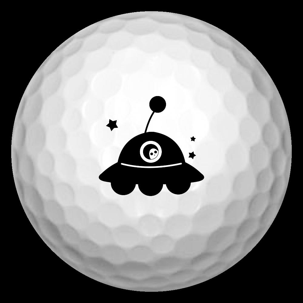 UFO ゴルフボール ゴルフボール(3個セット)