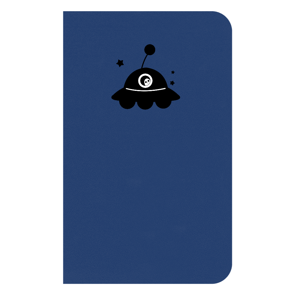 UFO ノート ハードカバーミニノート(罫線)