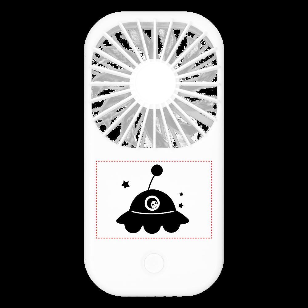 UFO ポータブルファン ポータブルスタンドファン