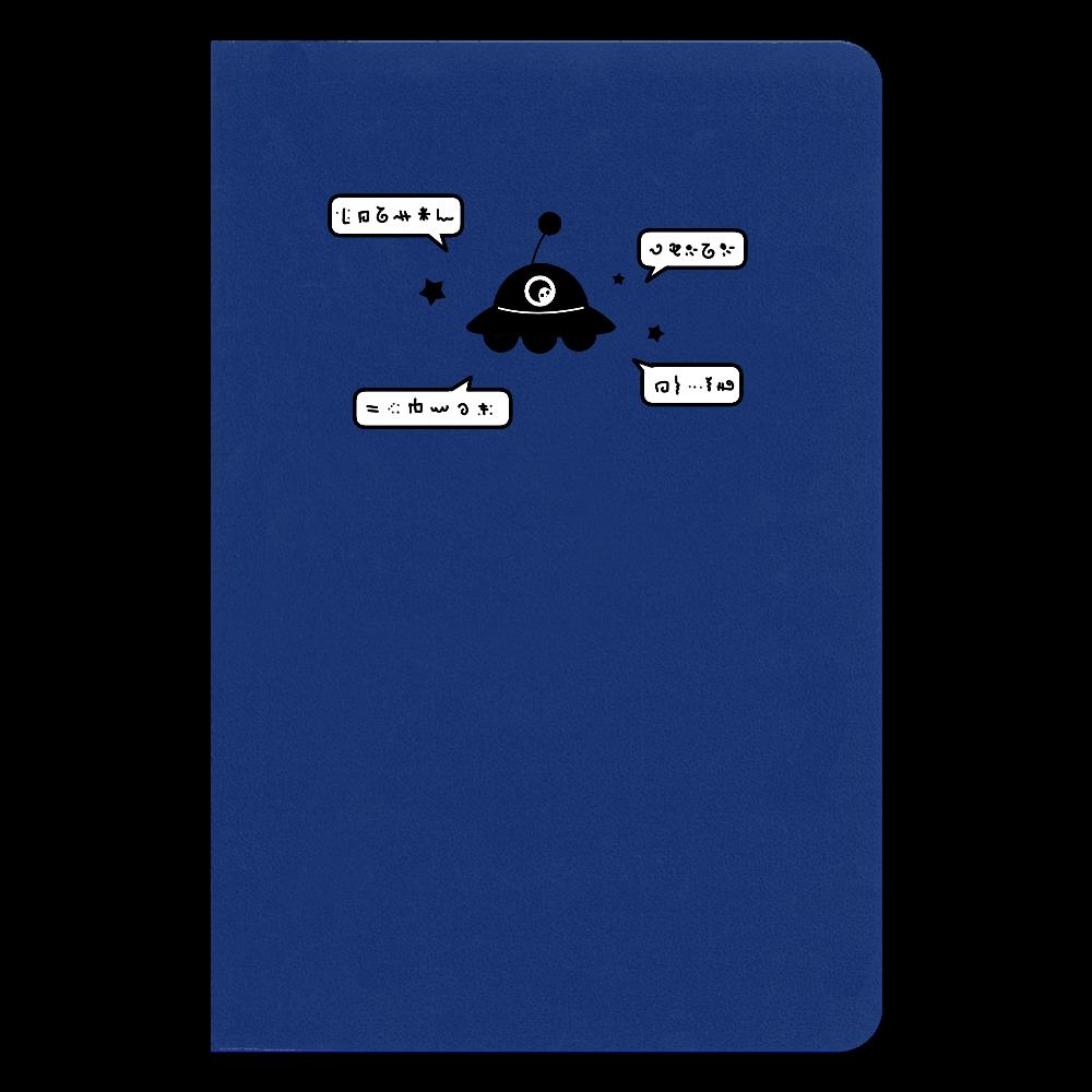 よく喋るUFO ノート ハードカバーノート(罫線)