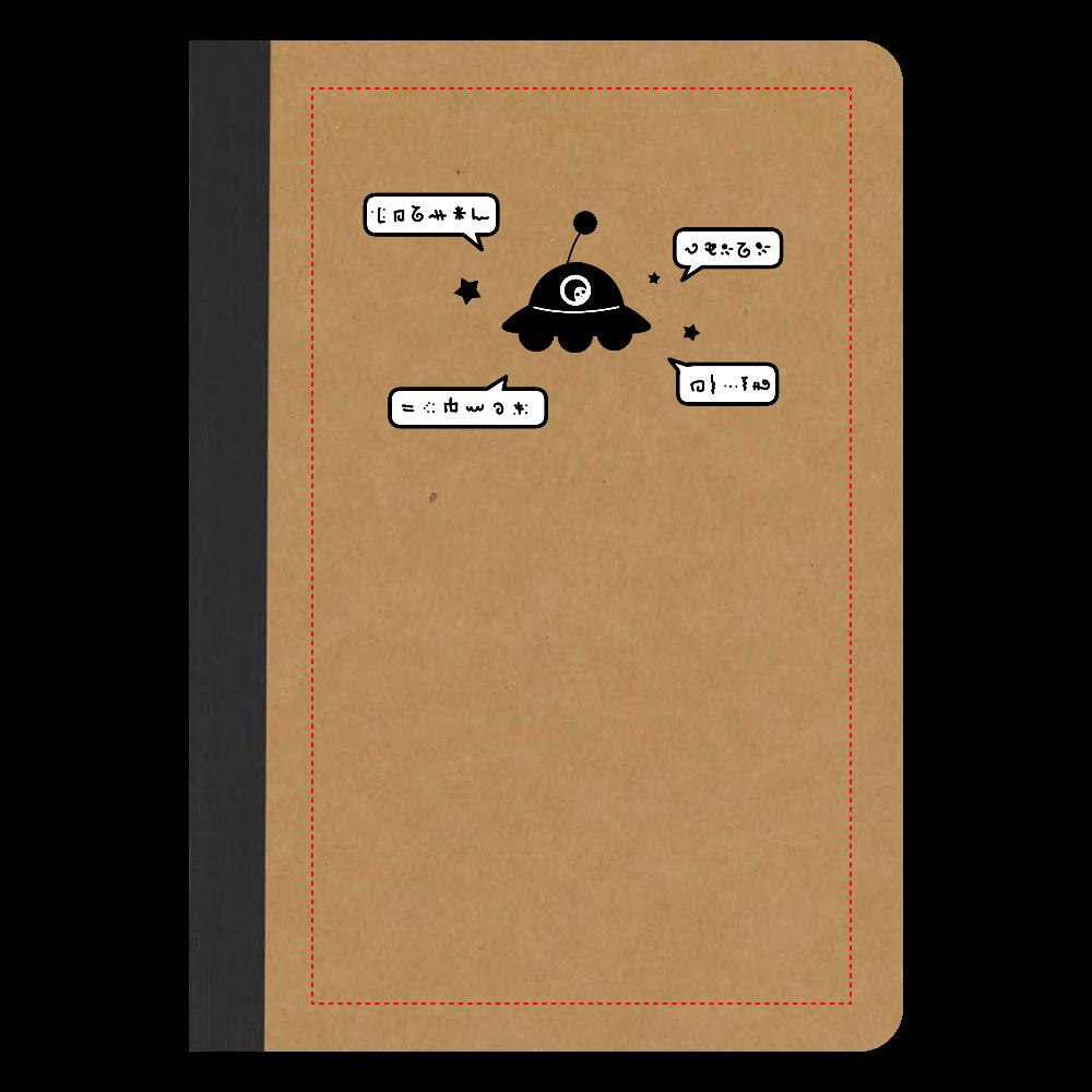 よく喋るUFO ノート リサイクルノートA5