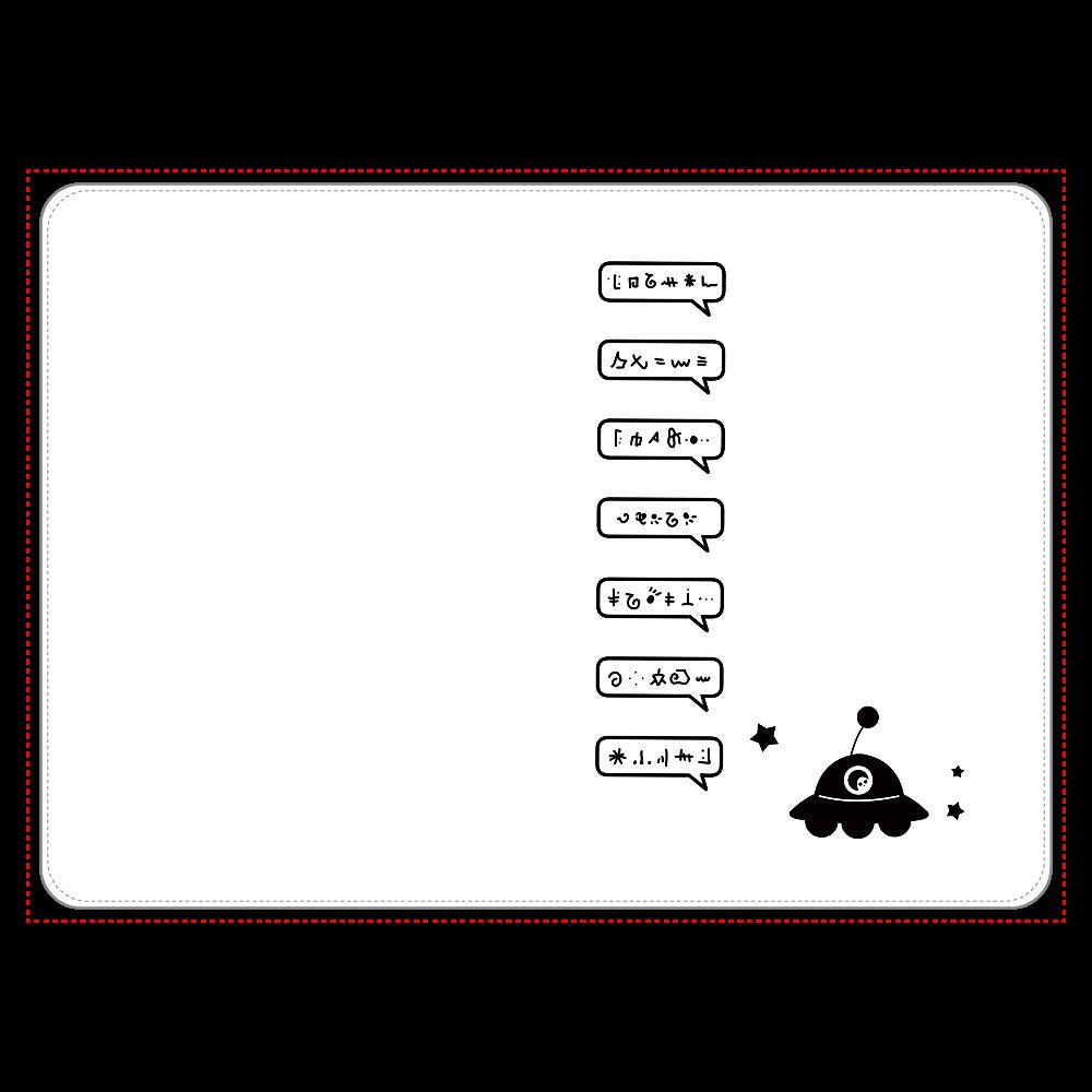 すげー喋るUFO タブレットケース タブレットケース汎用Mサイズ