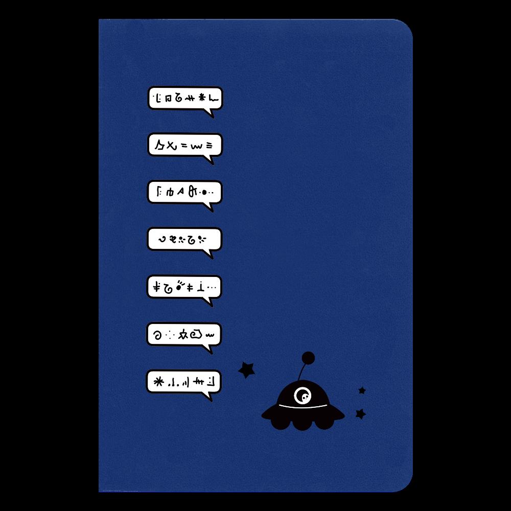すげー喋るUFO ノート ハードカバーノート(罫線)