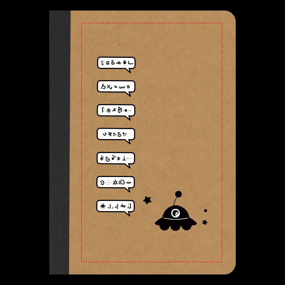 すげー喋るUFO ノート リサイクルノートA5