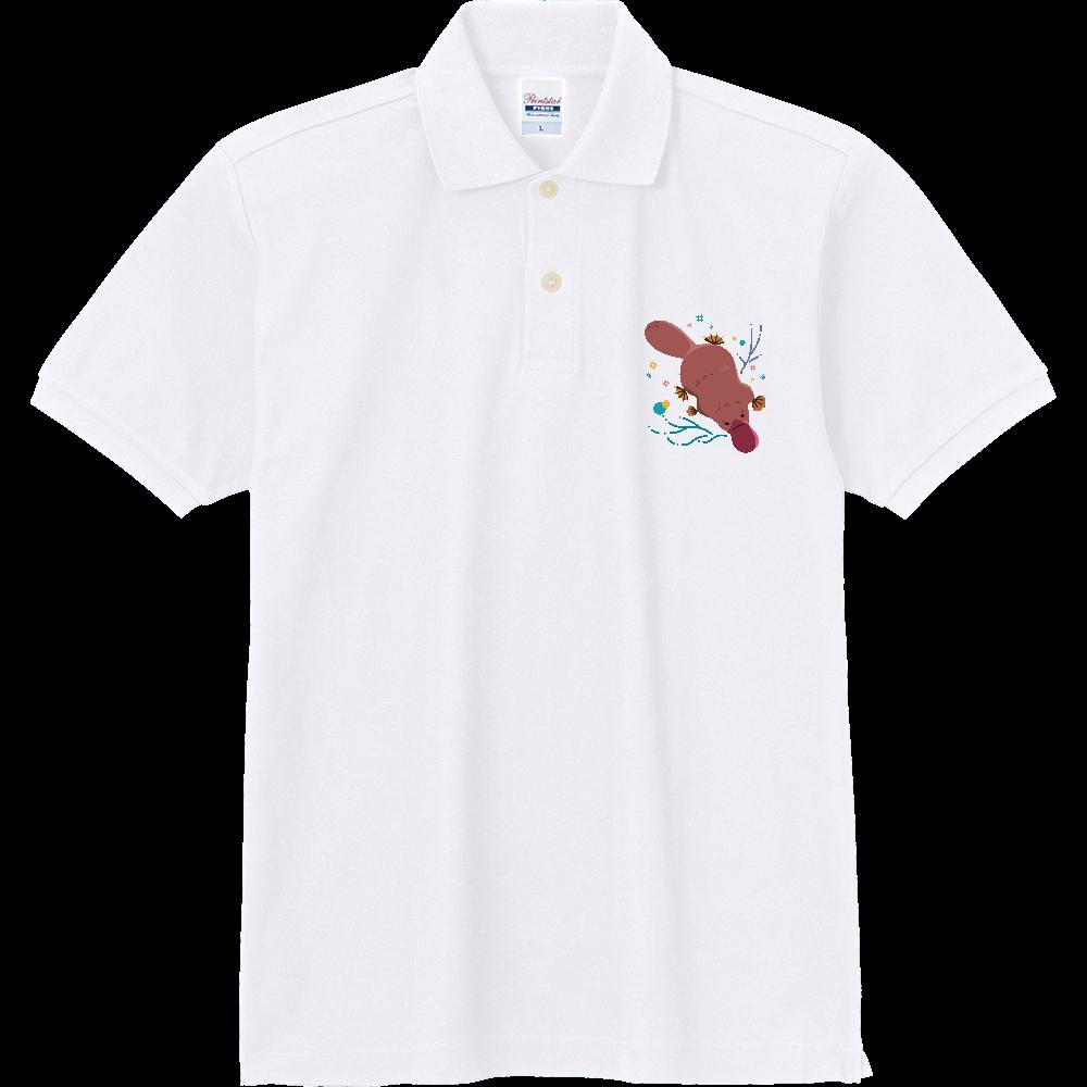 潜るカモノハシ 定番ポロシャツ