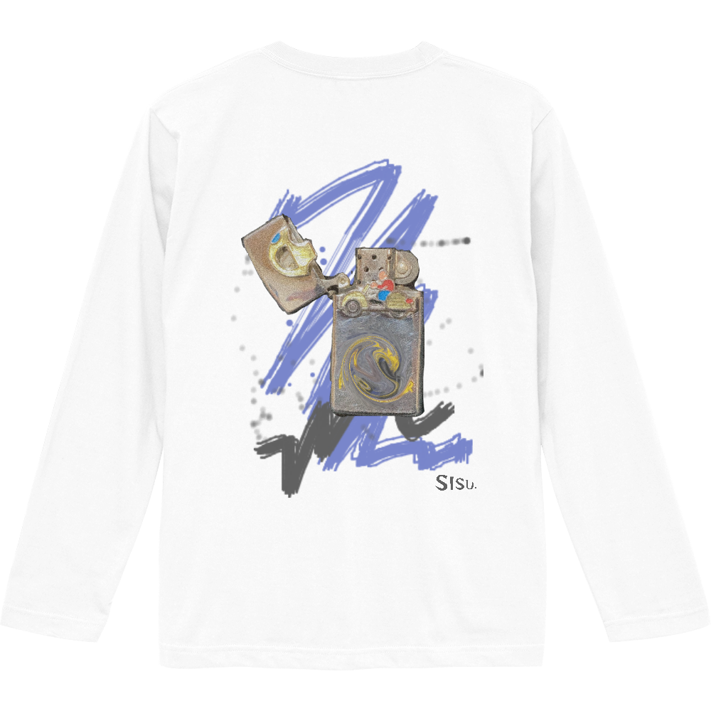 SISUCL. 長袖Tシャツ ロングスリーブTシャツ