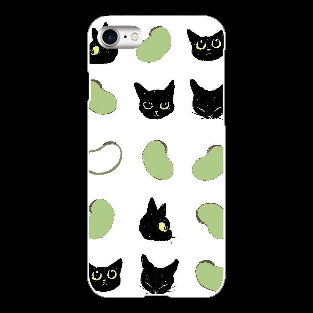 そら豆とくろまめ iPhone8(白)
