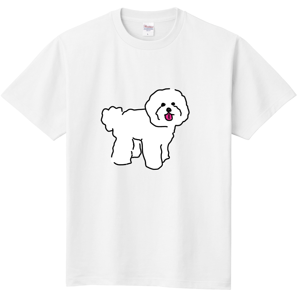 ビションフリーゼ 定番Tシャツ
