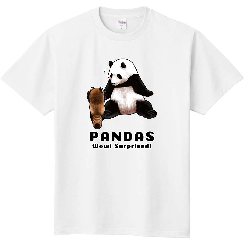 PANDAS【C】 定番Tシャツ
