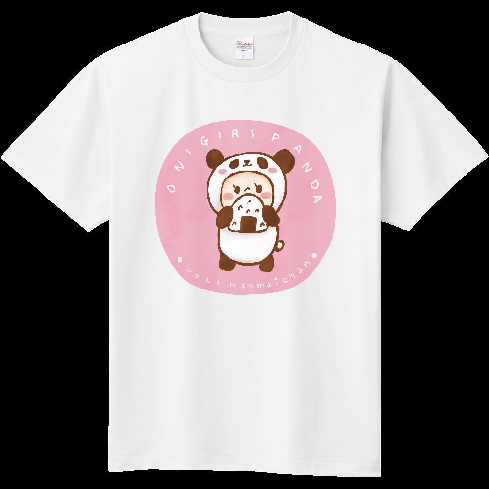 おにぎりパンダTシャツ 定番Tシャツ