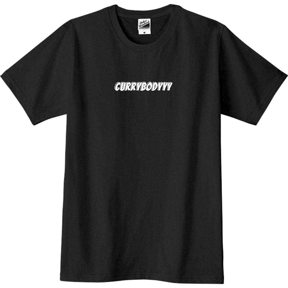 CURRYBODYYY(ホワイト文字/31色) スリムTシャツ