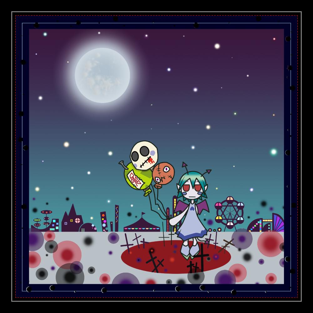 天使と悪魔 アクリルブロック 悪魔 アクリルブロック