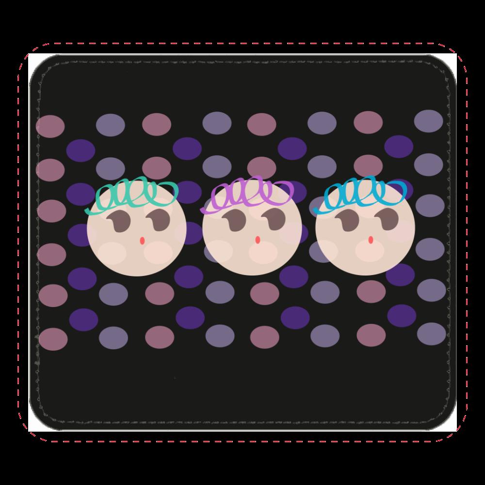 くるくるboys♡ レザーマウスパッド(スクエア)