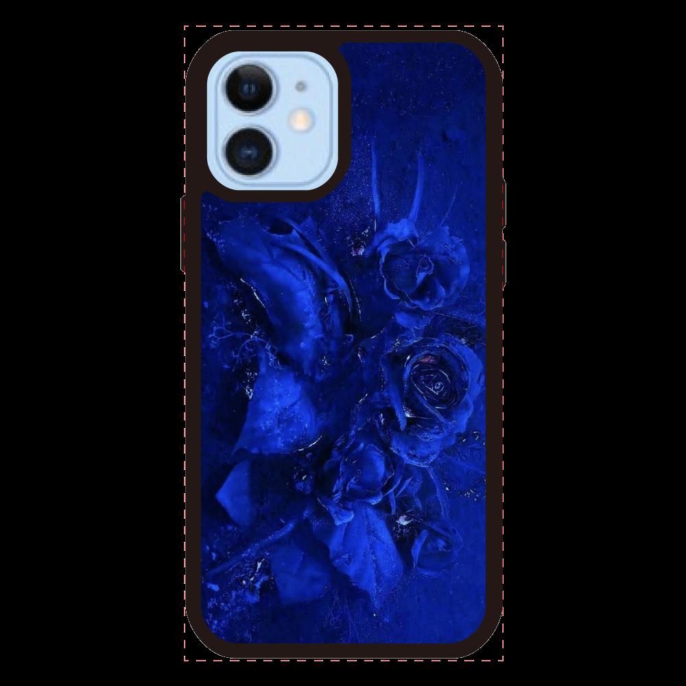 「Blue : Sappfire」 No.7 iPhone12/12Proクリアパネルラバーケース