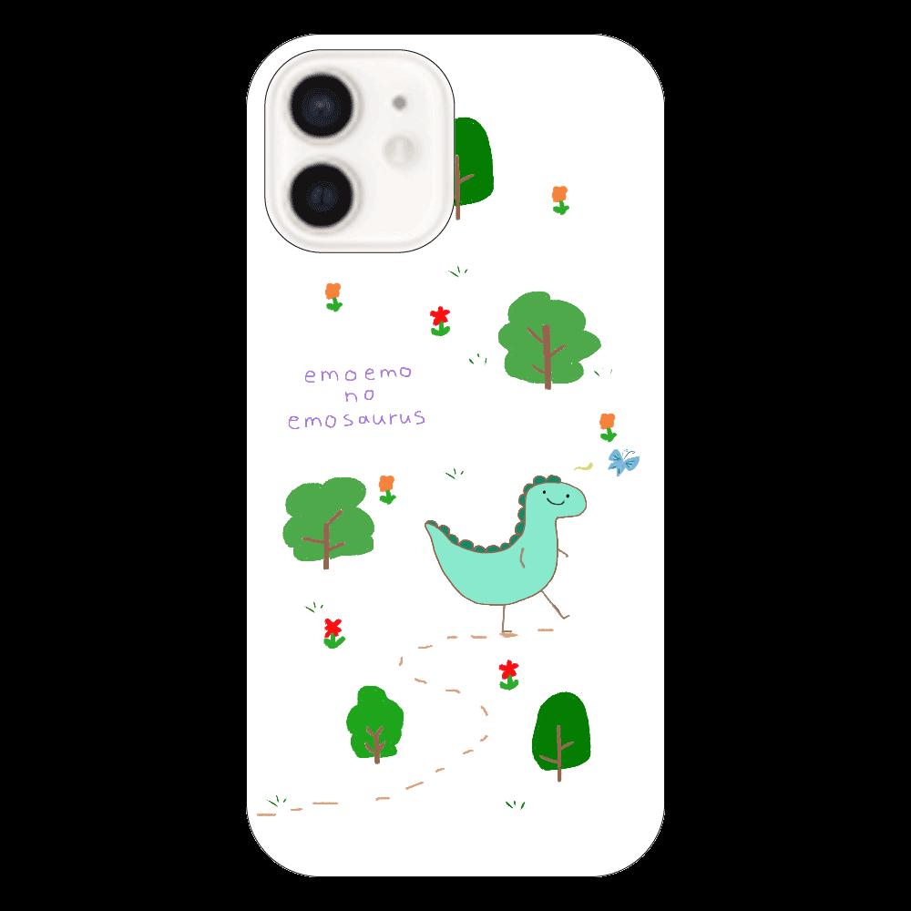 エモエモのエモザウルスマホケース(クリア) iPhone12(透明)