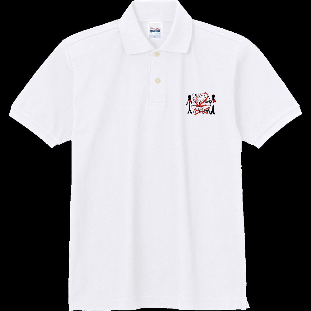 ソーシャルディスタンスポロシャツ(タイプB) 定番ポロシャツ