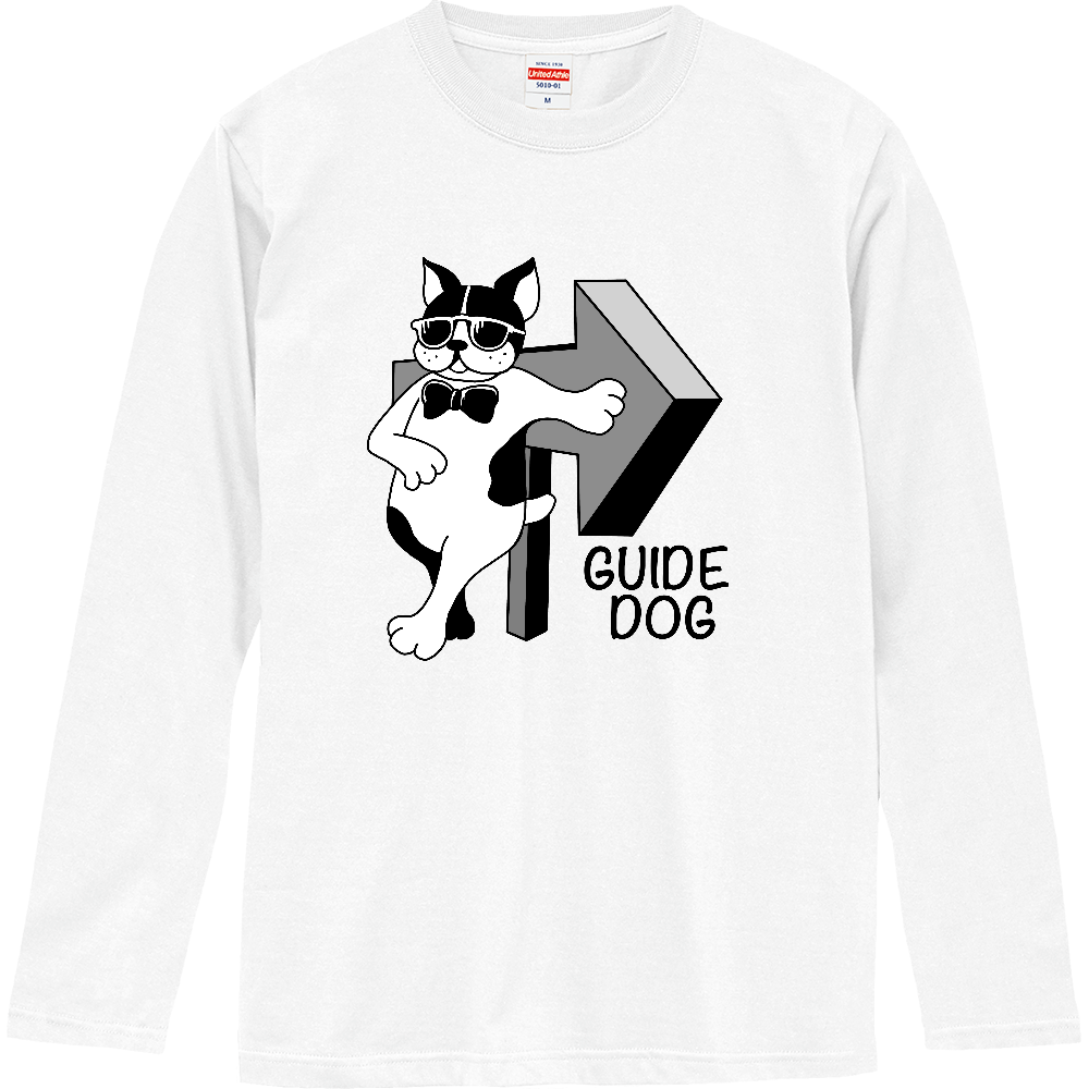 GUIDE DOG ロングスリーブTシャツ