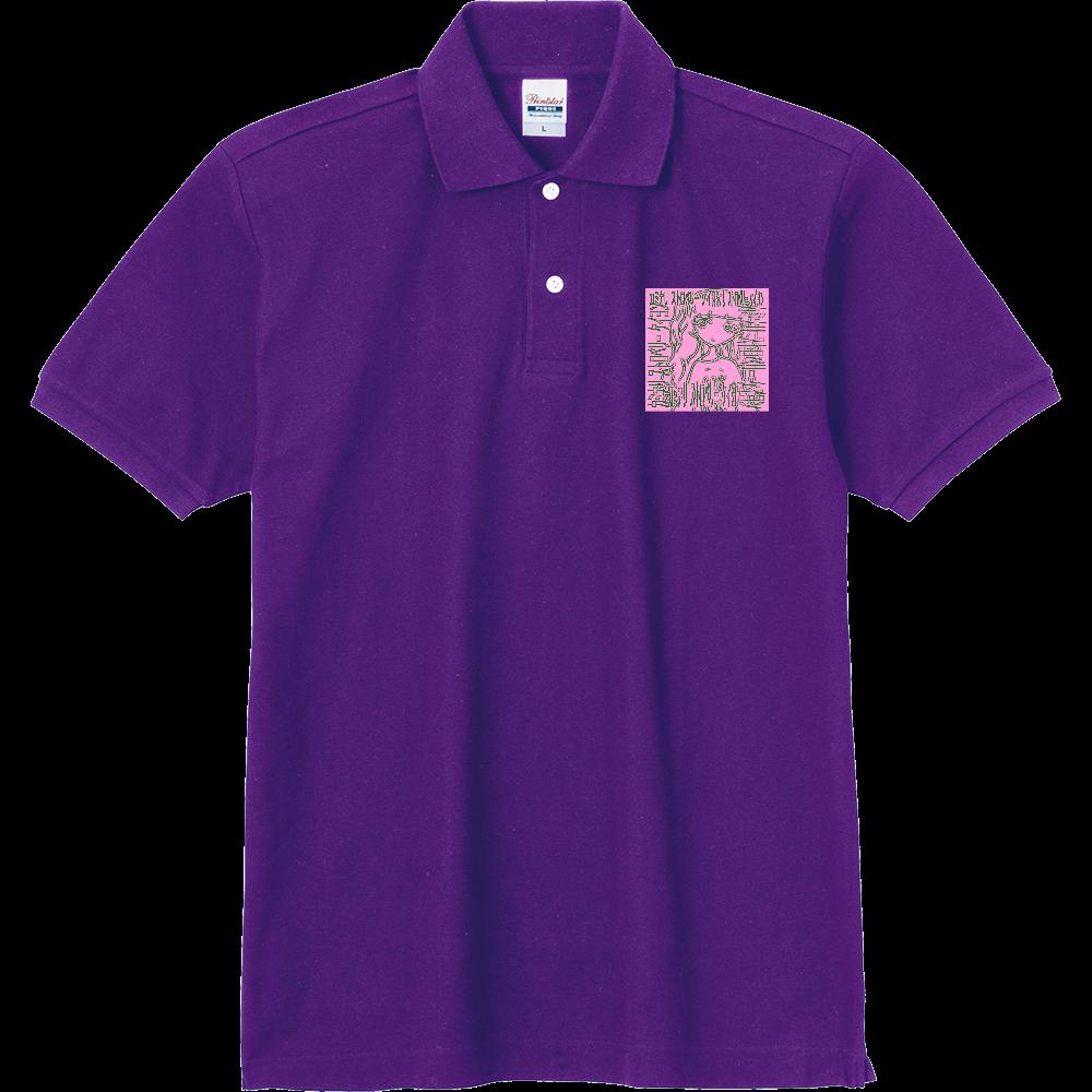 カミナリ ストロベリー 定番ポロシャツ