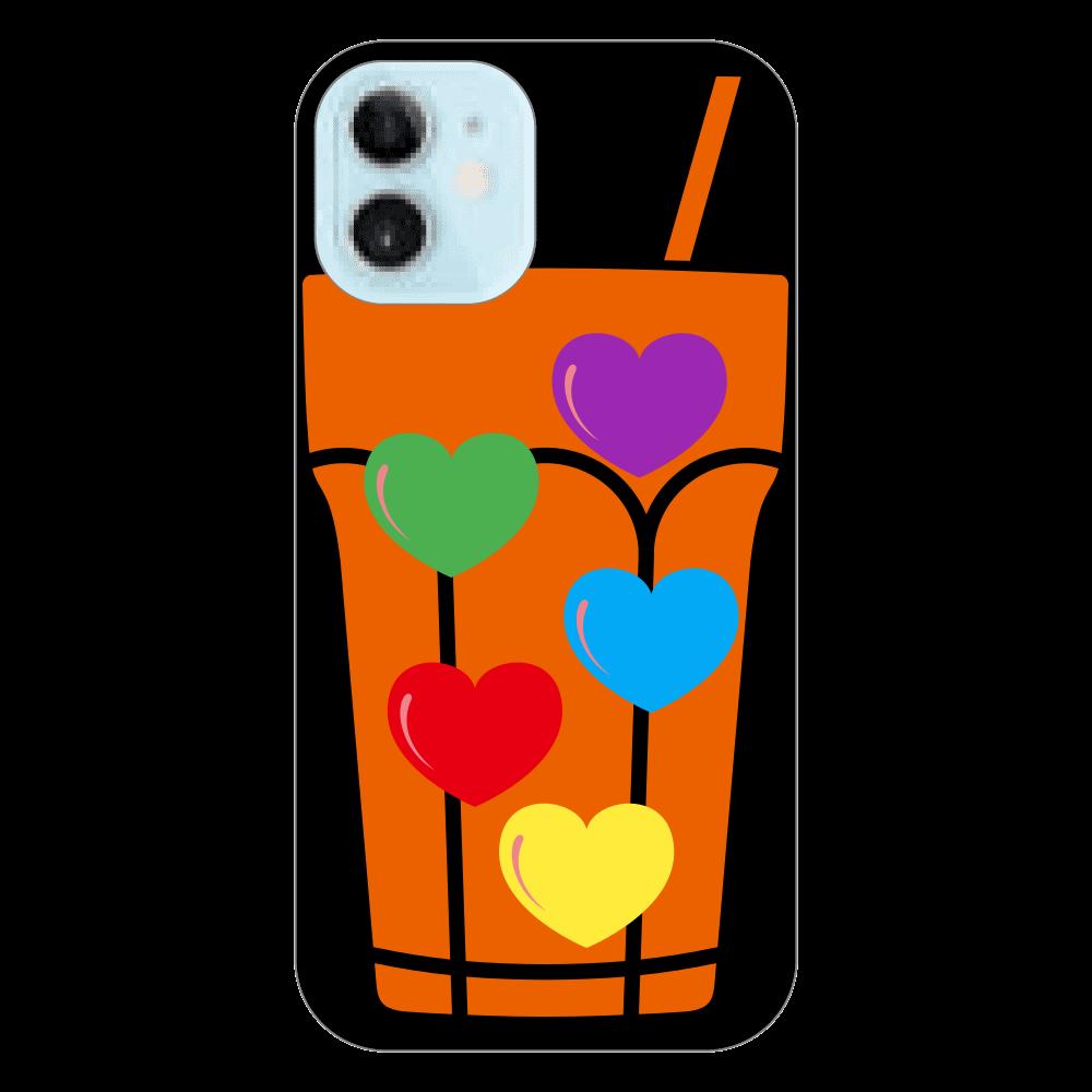 ポップなドリンクのスマホケース⭐︎ iPhone12 mini