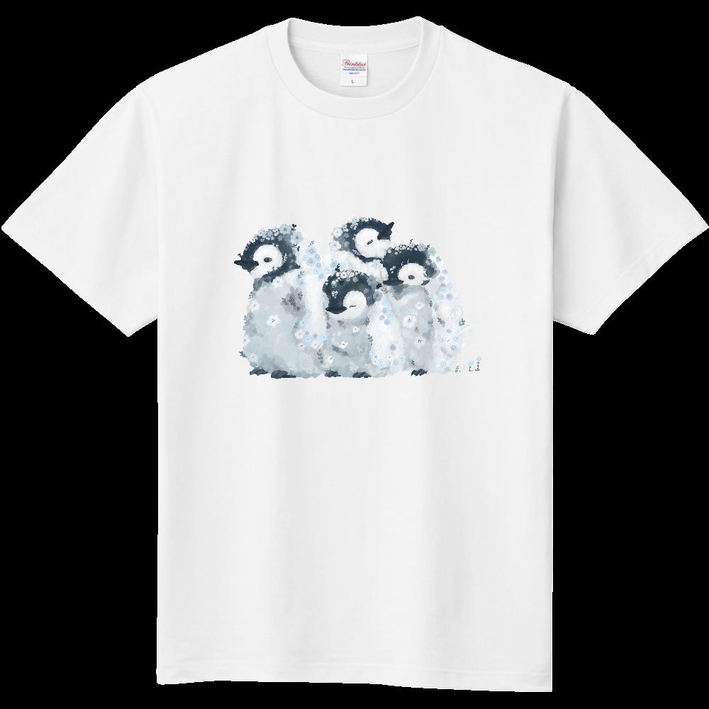 お花赤ちゃんぺんぎん 定番Tシャツ