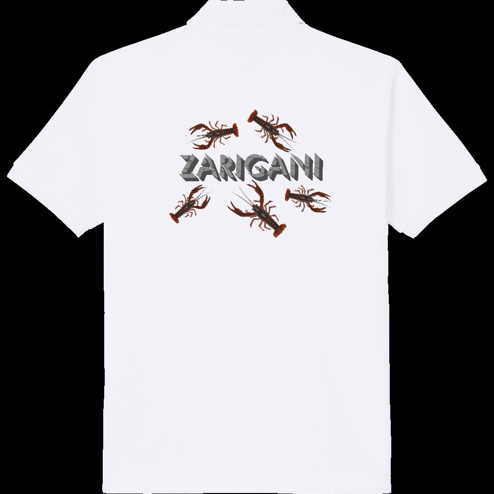 ZARIGANI_1C(背面) 定番ポロシャツ