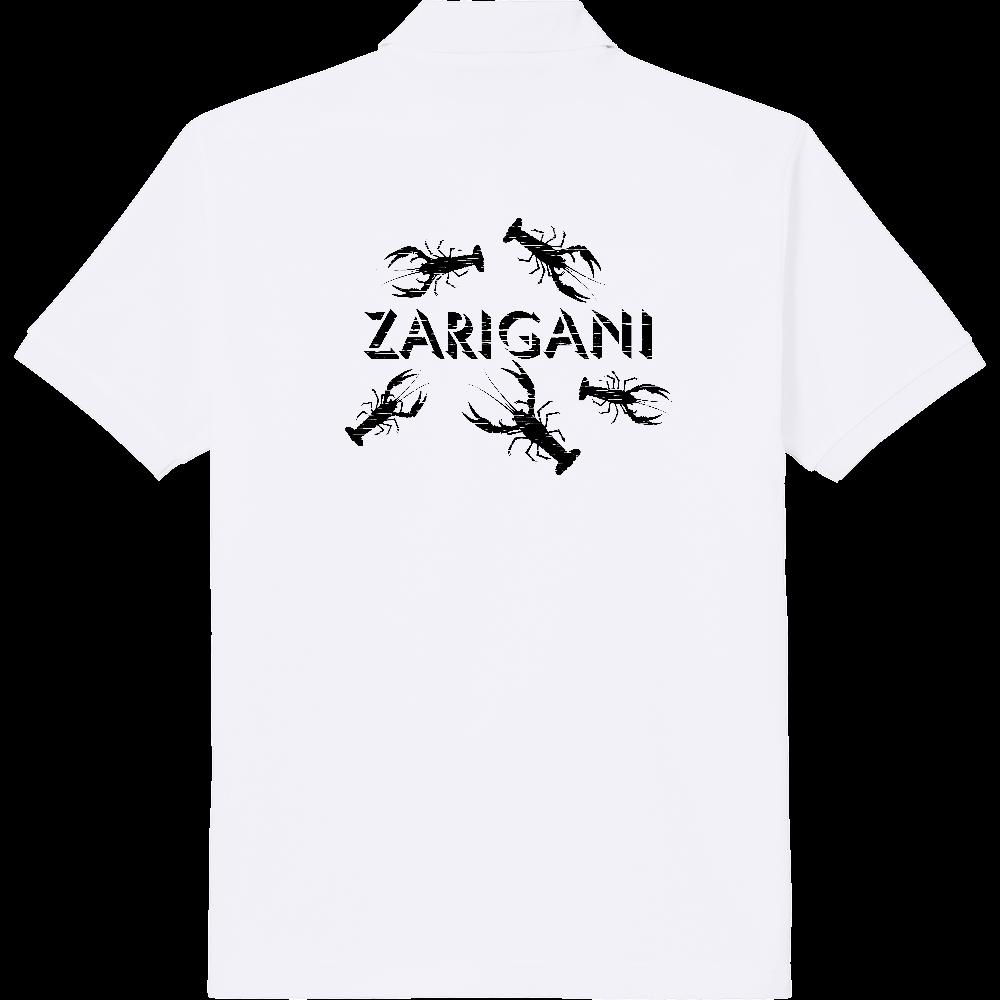 ZARIGANI_1K(背面) 定番ポロシャツ
