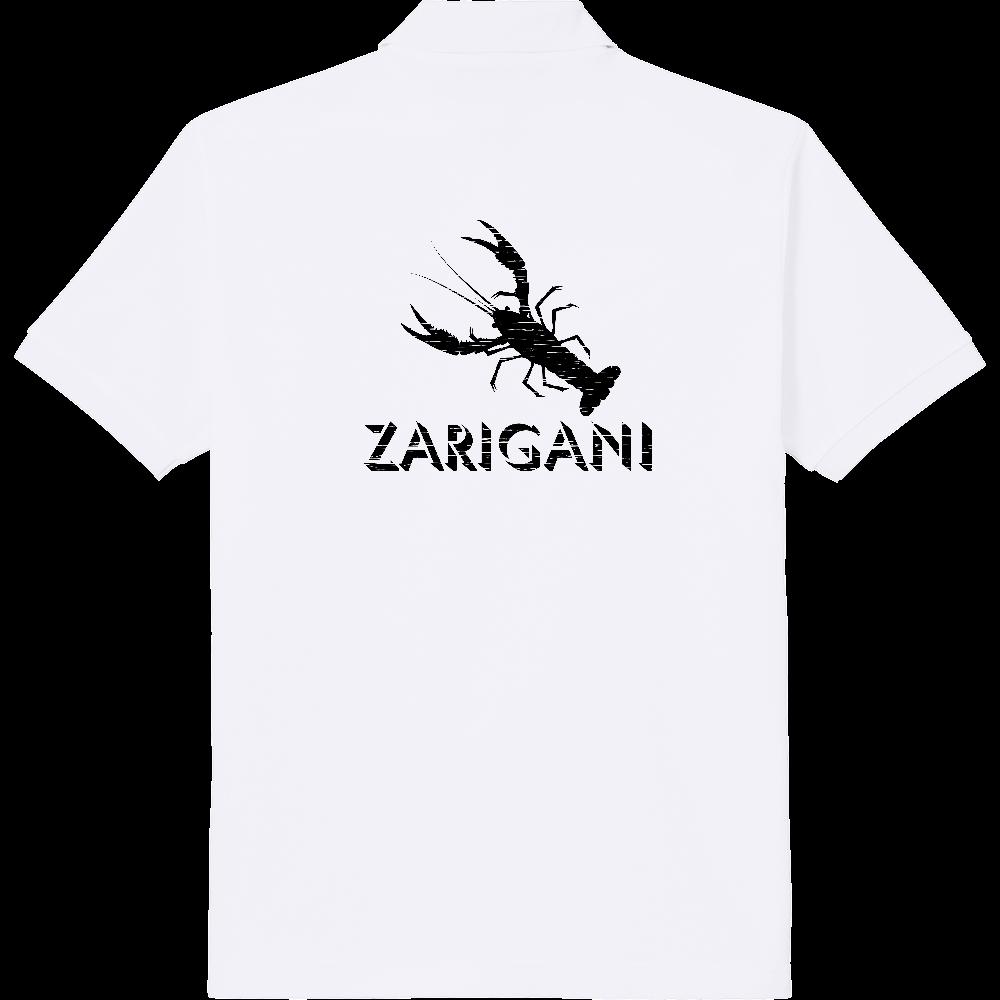 ZARIGANI_2K(背面) 定番ポロシャツ
