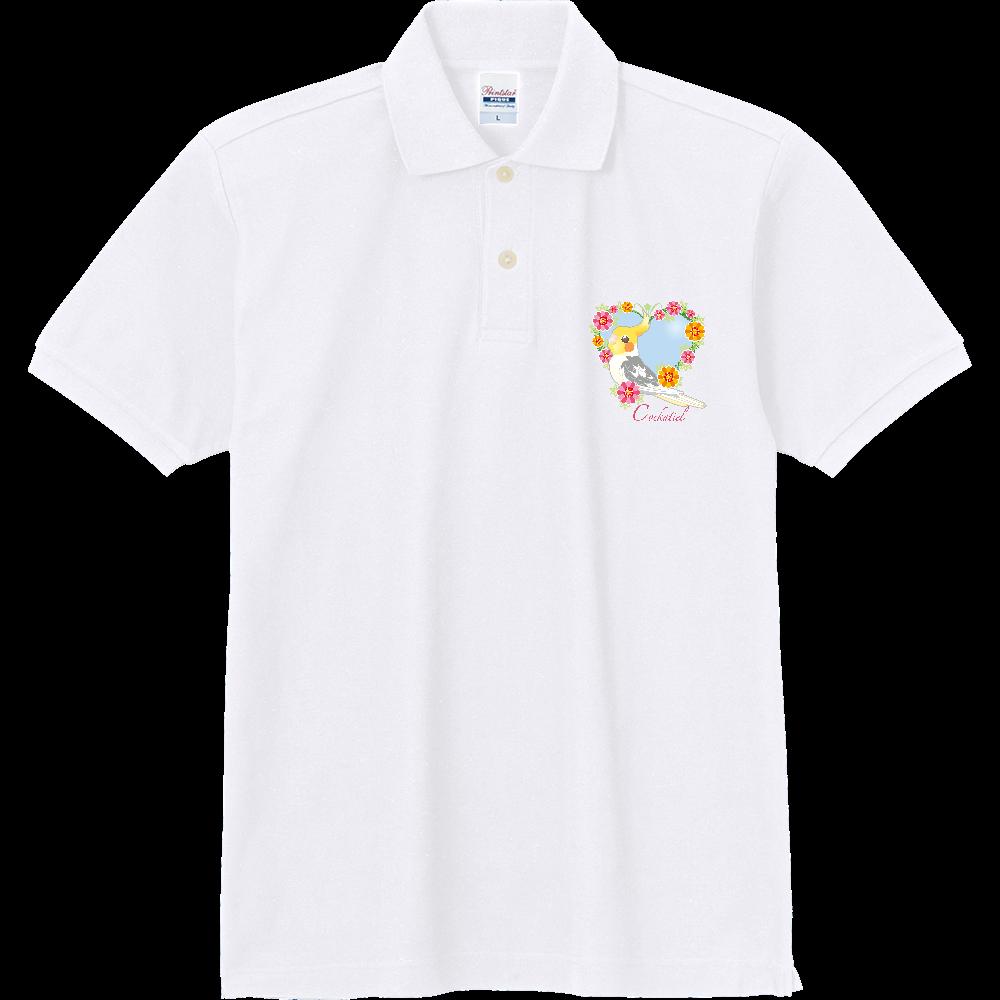1ポイントポロ/オカメインコ 定番ポロシャツ