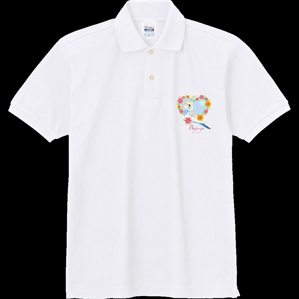 1ポイントポロ/セキセイインコ 定番ポロシャツ