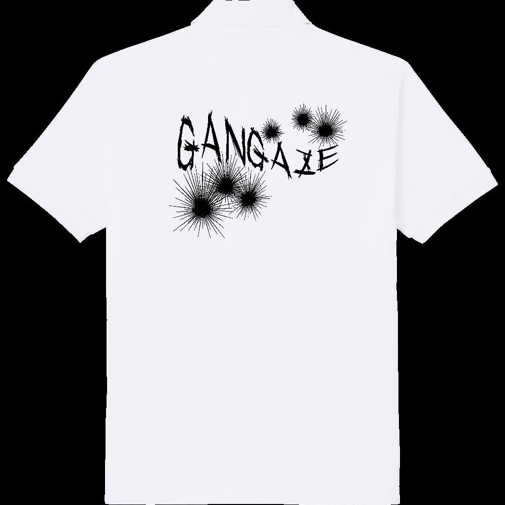 GANGAZE_K(背面) 定番ポロシャツ