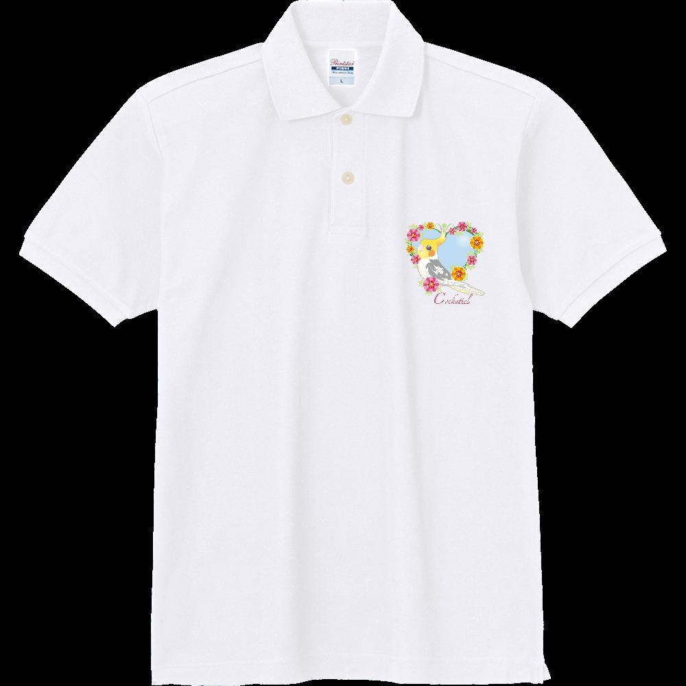 2ポイントポロ/オウム&インコ 定番ポロシャツ