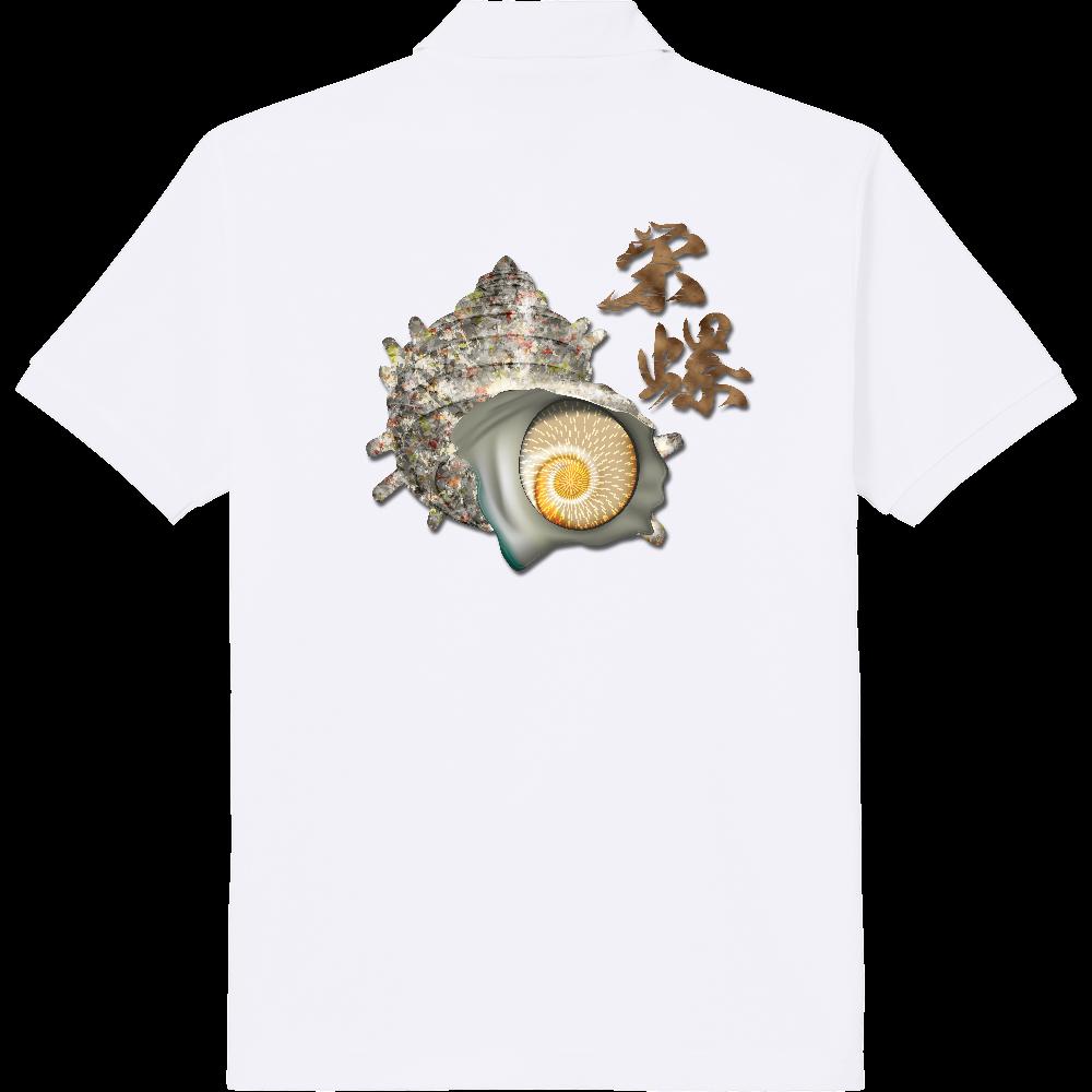 SAZAE_2C_2(背面) 定番ポロシャツ