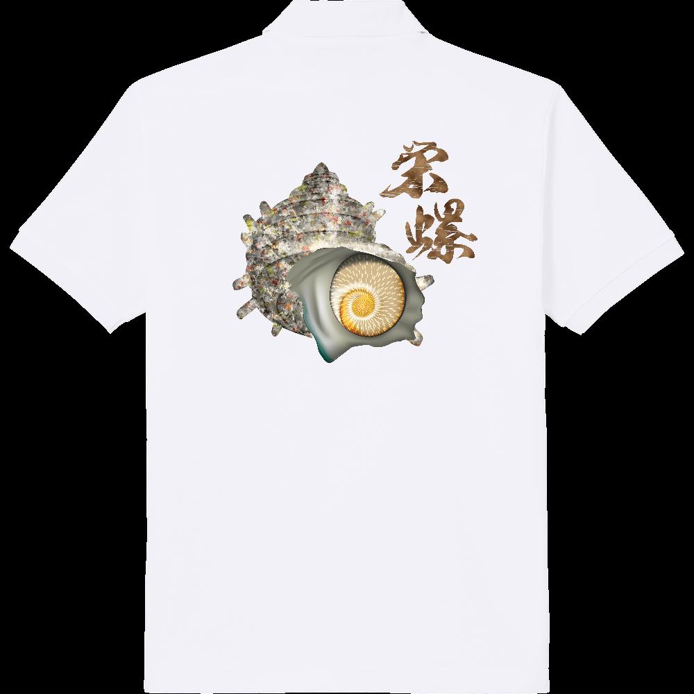 SAZAE_2C_1(背面) 定番ポロシャツ