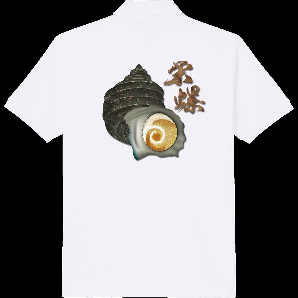 SAZAE_1C_2(背面) 定番ポロシャツ
