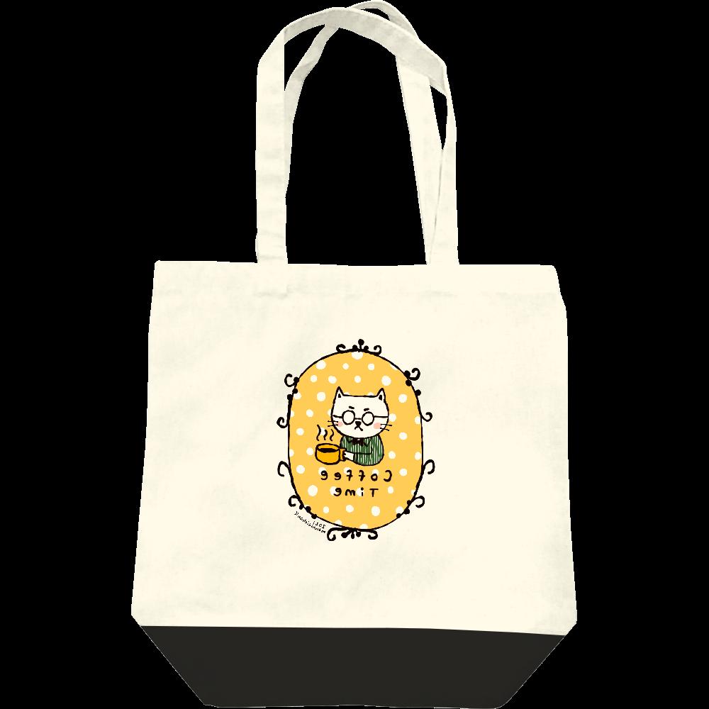 コーヒータイム トートバッグ レギュラーキャンバストートバッグ(M)