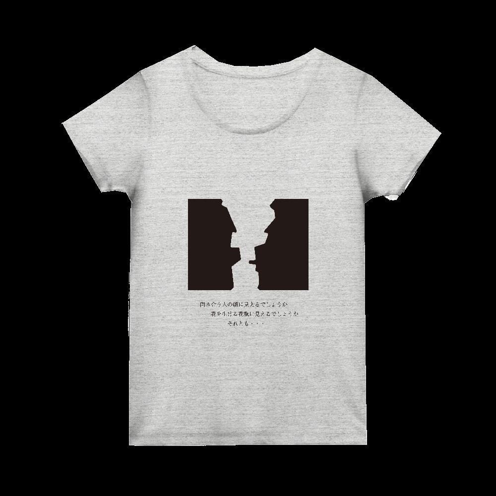 花瓶に見えて大網白里市ウィメンズTシャツ トライブレンド ウィメンズ Tシャツ