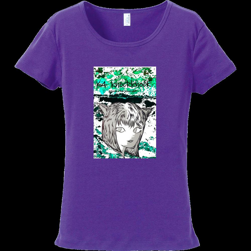 猫娘 フライスTシャツ