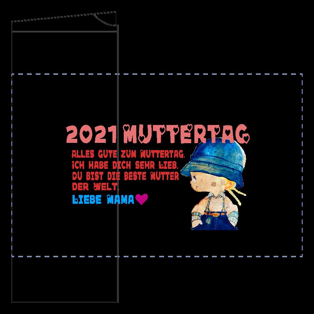 2021母の日【MutterTag】グッズ フタ付サーモストレートタンブラー(450ml)