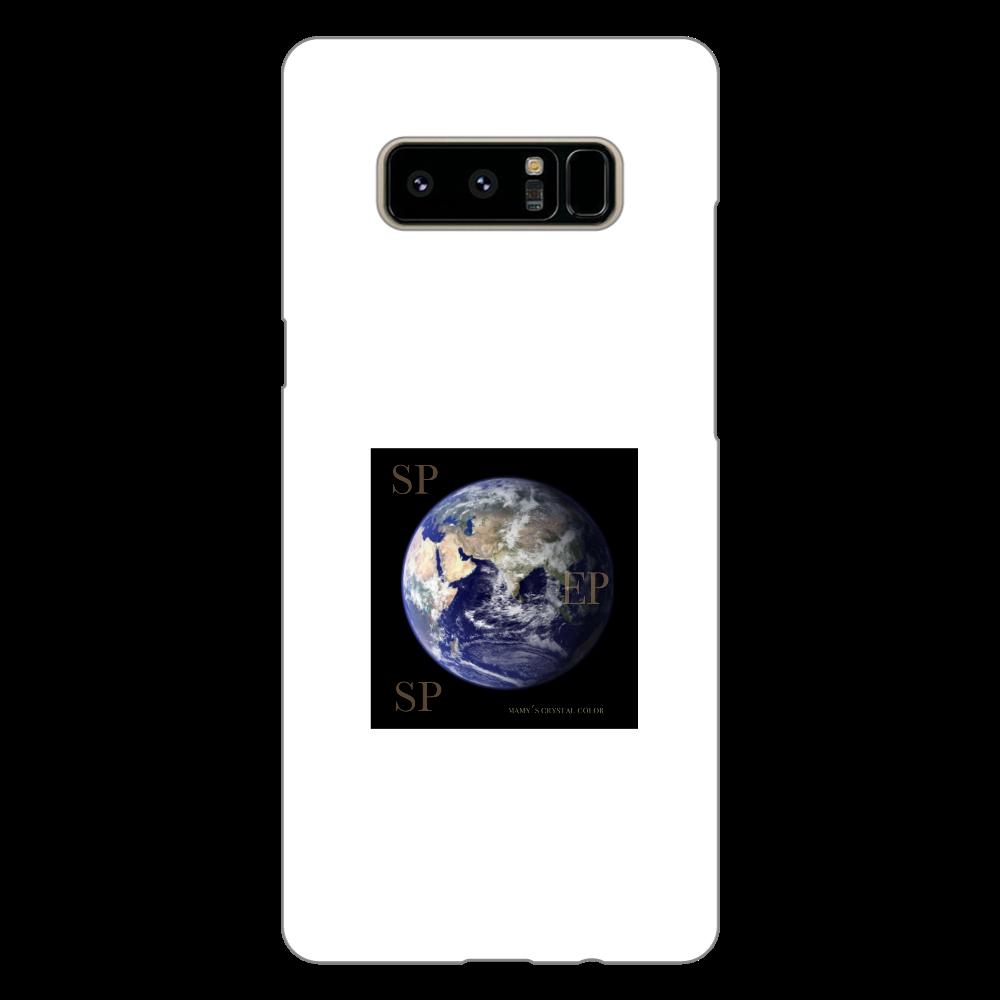 ESP galaxyスマホケース Galaxy Note8(白)
