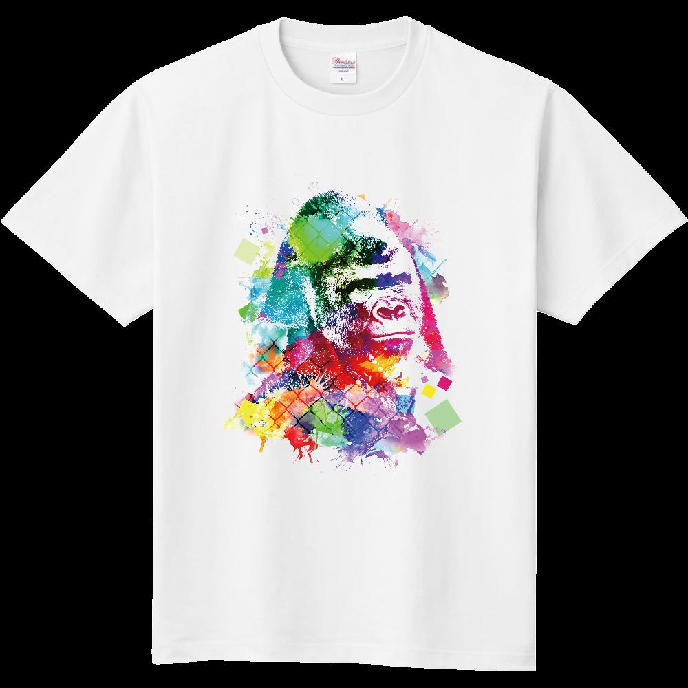 カラフルゴリラ 定番Tシャツ