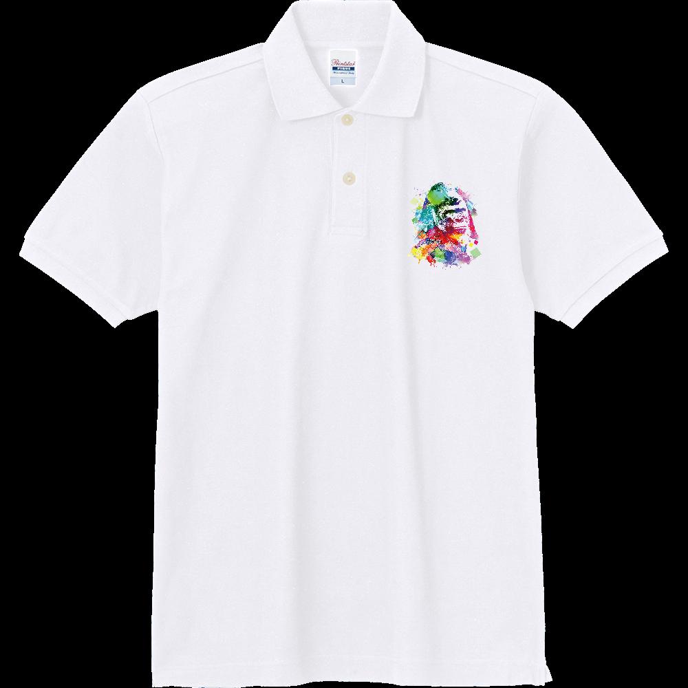 カラフルゴリラ 定番ポロシャツ