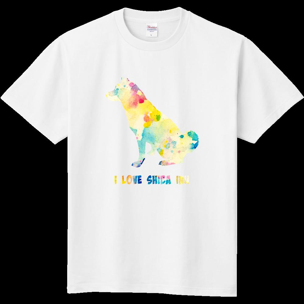 柴犬お座り【パレット】 定番Tシャツ